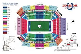 Lucas Oil Stadium Seating Chart For Colts Games 66 Circumstantial Indianapolis Colts Lucas Oil Stadium