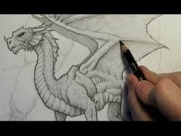 how to draw a dragon step by step narrated version