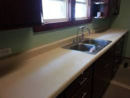 Spray paint countertops diy, I used rustoleum's stone effects in sandstone  and minwax semi-