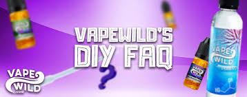 Vape Wild Diy Chart How To Make Vape Juice A Q A With Vape Wilds Mixologists