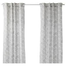 Coral Patterned Curtains Cool Decoration