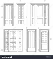 closed door drawing. Full Size Of Door:simple Door Drawing To Draw S Opened Closed In Two Point