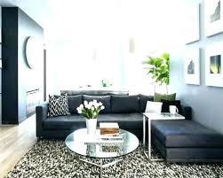 grey sofa area
