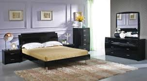 Modern Black Lacquer Bedroom Sets Within Black Lacquer Bedroom - Black modern bedroom sets