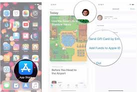 how to add funds to your apple id in