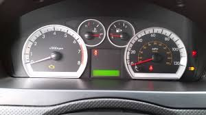 Chevy Aveo Dashboard Lights 2007 2011 Gm Chevrolet Aveo All Gauges Not Working Speedometer Fuel Temperature Rpm
