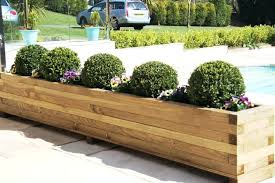 large planter boxes for sale. Large Wood Planter Boxes On For Sale