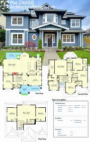 bungalow house plans with detached garage elegant best 4 bedroom