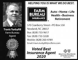 North carolina farm bureau mutual insurance company inc. Extra Copies Of Today S Obituaries Provided By Avery County Farm Bureau N C Farm Bureau Insurance Travis