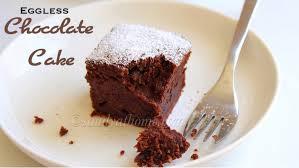 Eggless Chocolate Cake Recipe Easy Eggless Chocolate Cake