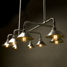 Chandeliers For Kitchen Tables Galvanised Plumbing Pipe Dining Table Light Remodel Pinterest