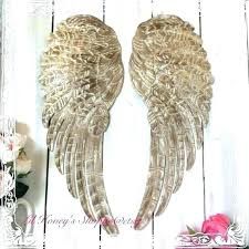 angel wings decor wall art lovely excellent in large adorable next uk metal a