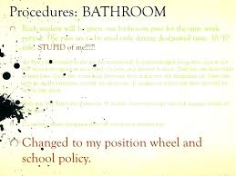 School Pass Template Hall Templates Bathroom Word Lunch