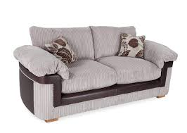 a power shot image showing the salvador cord fabric 2 seater high back sofa