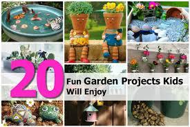 20 Fun Garden Projects Kids Will Enjoy