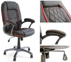 comfortable desk chair. Charles Jacobs Executive Office CHAIR In Black High Back Business/Office Seat + Tilt Lock Mechanism: Amazon.co.uk: Products Comfortable Desk Chair R
