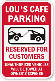 reserved sign templates visitor parking signs custom templates