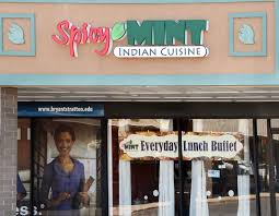 exterior of the spicy mint restaurant in wolf road pers park thursday may 14 2016