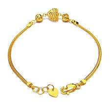 bb sgs dt 8 18k 21k 22k gold bracelet