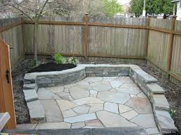 flagstone patio cost canada per square foot vs stamped concrete