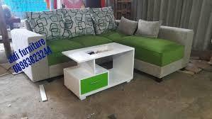 Jual sofa L sofa bed sofa tamu minimalis aldi furniture Tokopedia