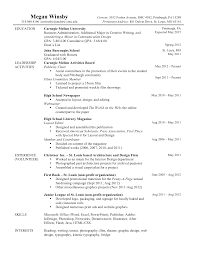 Example Of Basic Resumes Simple Student Resume Templates With Basic Resume Format Free