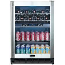 Magic Chef Kitchen Appliances Magic Chef Mcwbc77dzc Dual Zone Wine And Beverage Cooler