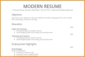 Resume Simple Format Magnificent Best Simple Resume Information Simple Resume Format Doc Netdoma