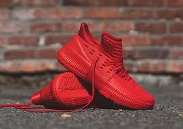 adidas basketball shoes damian lillard. damian lillard\u0027s new adidas signature shoe releases tomorrow in all red basketball shoes lillard b