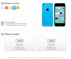 Unlocked iPhone 5C Prices in Canada Start at $599 for 16GB