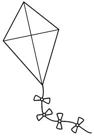 Small Picture Kite Coloring Pages Online 2540