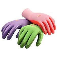 garden gloves. G \u0026 F 15226M Women\u0027s Garden Gloves, Nitrile Coated Work Assorted Colors. Gloves