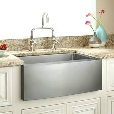 24 farmhouse sink optimum stainless steel curved a in reinhard fireclay white base cabinet ikea inch