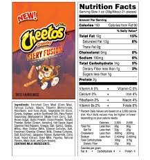 cheetos fiery fusion