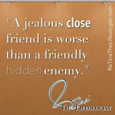 Quotes About Jealousy In Friendship