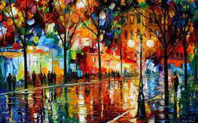 wallpaper: Colorful Paintings Wallpapers