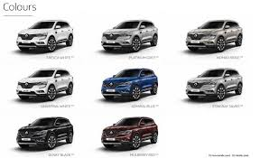 2018 renault koleos diesel.  Renault Choose Your Renault Koleos Colour On 2018 Renault Diesel