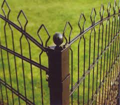 decorative wire garden fence. Decorative Wire Fencing Brown Decorative Wire Garden Fence L