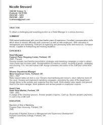 Objective Resume Sales Homework Hotline Willoughby Eastlake City Schools Sales Supervisor