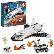 <b>LEGO City Space</b> Mars Research Shuttle Space Shuttle Toy ...