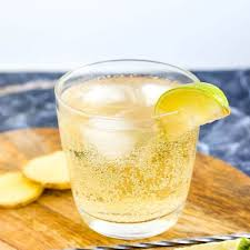 This whiskey sour cocktail recipe is low in calories, thanks to our healthy ingredient swap. Real Keto Ginger Whiskey Soda Lowcarbingasian
