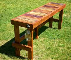 Wood Pallet Table Top Pallet Wood Top Bar Outdoor Bar Table Pallet Wood And Hot Tubs
