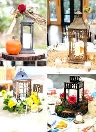 lantern centerpieces for weddings ideas centerpiece wedding wood