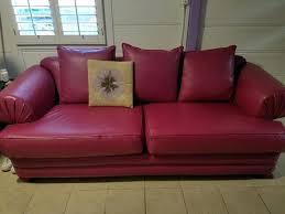 purple leather sofa and loveseat couch for in ca