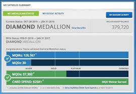 Delta Skymiles Benefits Chart Ive Made Diamond Medallion On Delta One Mile At A Time