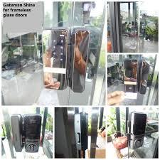 optional remote controller for gateman shine glass digital lock