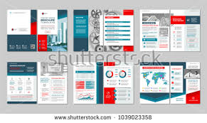 Brochure Cover Pages Modern Business Brochure Flyer Template Design Download Free
