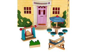 Wooden Dollhouse Furniture Set by Dragon Drew Groupon