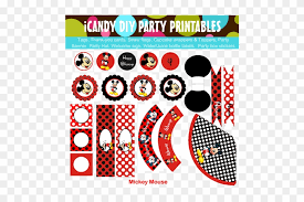 Mickey Mouse Party Printables Free Diy Mickey Mouse Party Ideas Party Free Transparent Png Clipart