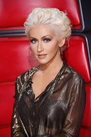 2016 love her hair and makeup christina aguilera at the voice eye